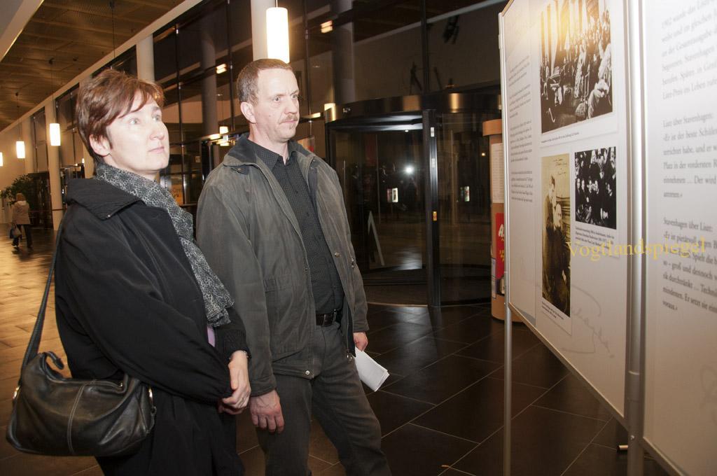 Bernhard Stavenhagen   Ausstellung in der Greizer Vogtlandhalle