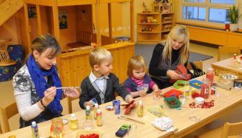 Weihnachtsmarkt im Kindergarten Juri Gagarin