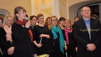 """2. Konzert des Psycho-Chores des FSU Jena in """"St. Marien"""" Greiz"""