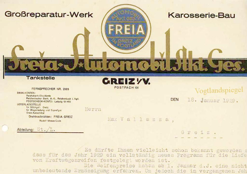 Freia Greiz 1929