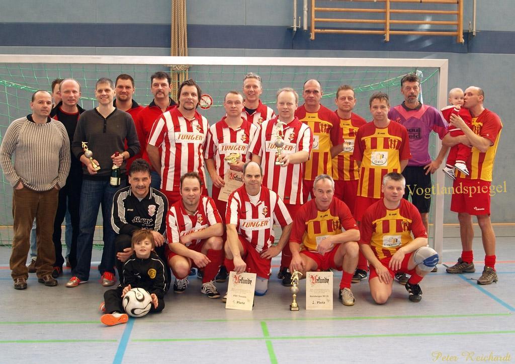 Die Alten Herren des FSV Treuen sind neuer Pokalgewinner