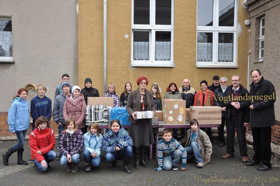 38. Hilfstransport des Vereines Greiz Brest e.V.