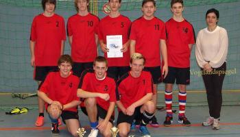 32. Rudi-Geiger-Turnier im Hallenfußball für die Jahrgänge1996 bis 1998 in der Ulf-Merbold Sporthalle Greiz