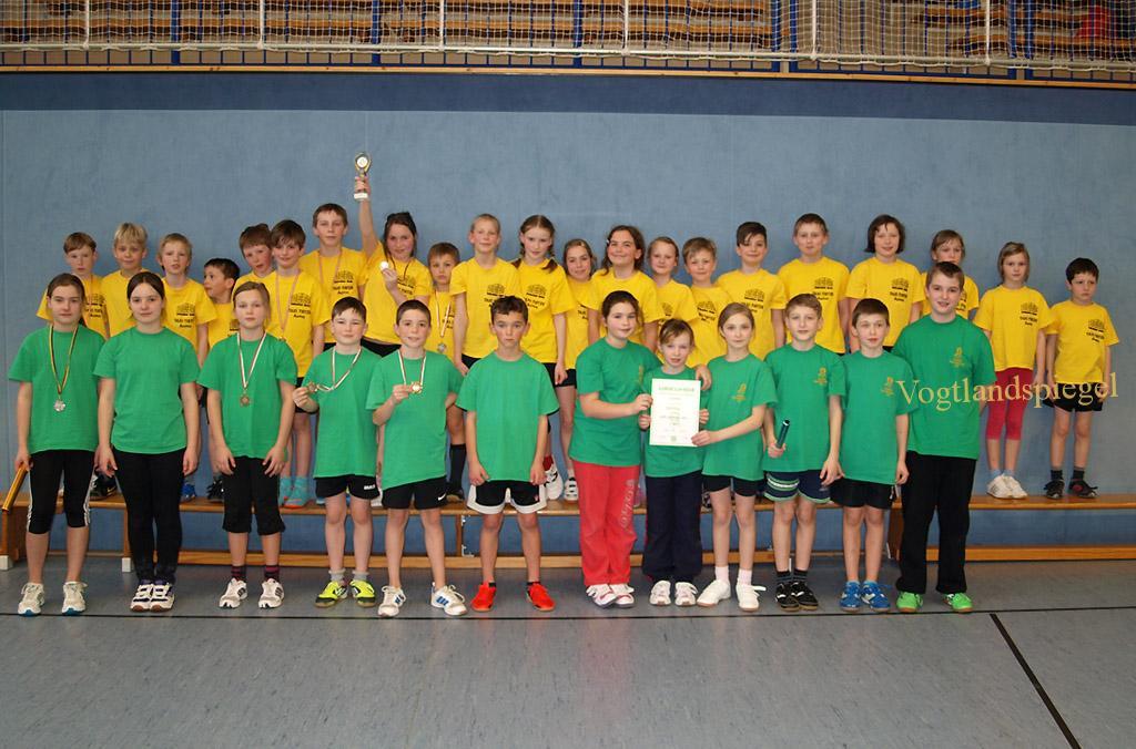 Sieben Grundschulen des Landkreises Greiz beim Wettkampf dabei