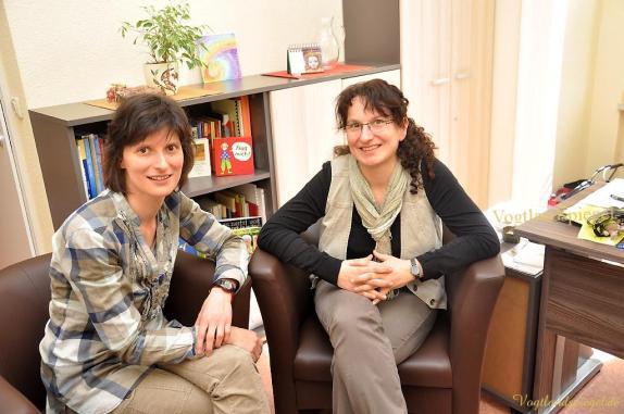 Seit 1. April ist Peggy Schwarzenberger im Hospiz-und Palliativdienst des Diakonievereins Carolinenfeld e.V. tätig