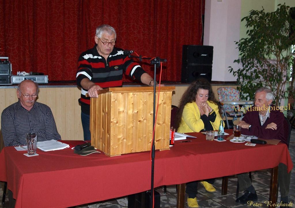 Mitgliederversammlung der Kleingartenanlage Sonnenhöhe» e.V. Greiz bestätigte erfolgreiche Entwicklung