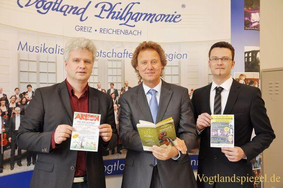 Vogtland Philharmonie Greiz/Reichenbach blickt auf ein erfolgreiches Jahr zurück und plant bereits die Sommerspielzeit 2013