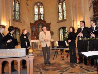 Ensemble Himmelwärts gastierte in Pohlitzer Kirche
