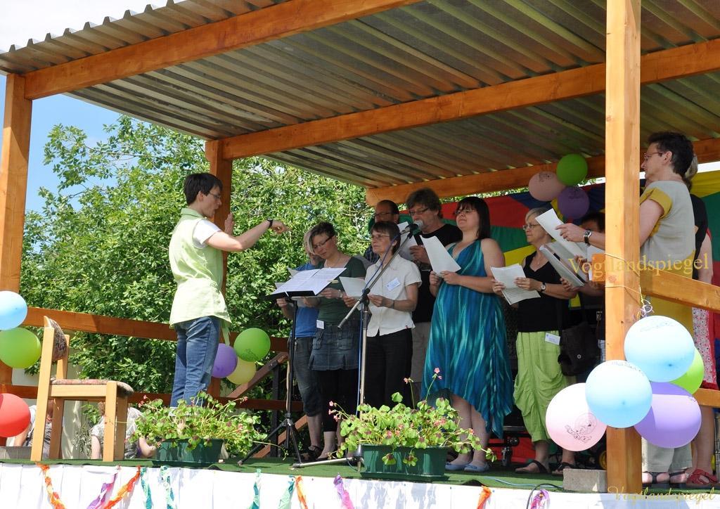 Fröhliches Sommerfest in Carolinenfeld