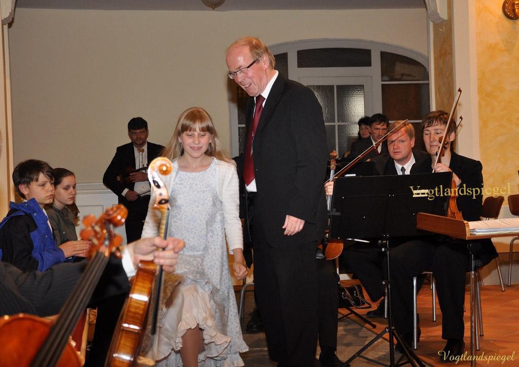 Greizer Collegium musicum konzertiert mit Musikschülern