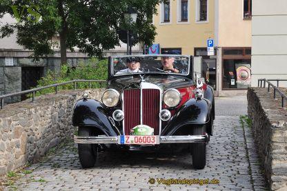 11. Sachsen Classic machte Station in Greiz