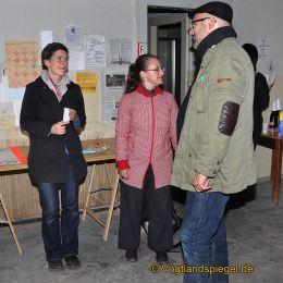 Drei Vernissagen bei Greizer Theaterherbst