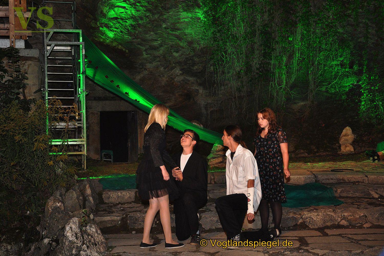 Eröffnungsspektakel des Greizer Theaterherbstes begeistert auf dem Oberen Schloss
