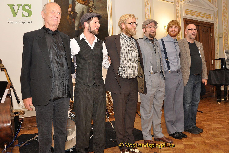 Brecht und Jazz im Weißen Saal des Unteren Schlosses Greiz