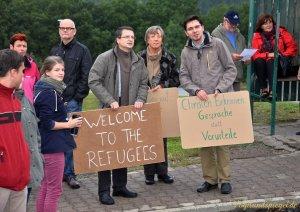 Solidarität mit den Flüchtlingen in Greiz