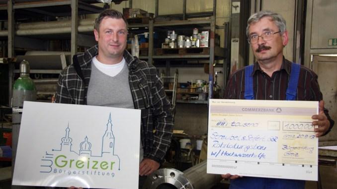 Spendenantrag der Firma Streubel & Seifert Rohrleitungsbau GbR positiv entschieden