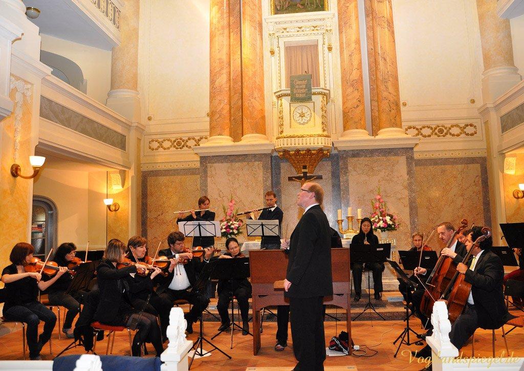 Klangschönes Konzert des Greizer Collegium musicum