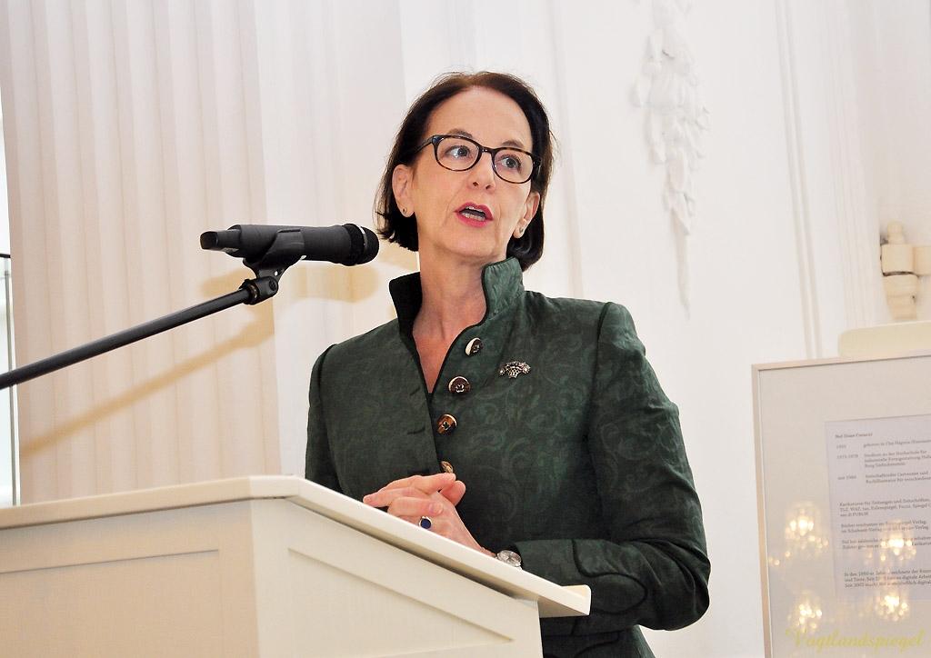 Eva-Maria von Mariassy, Direktorin des Sommerpalais Greiz