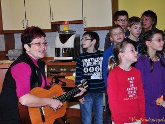 Greizer Paul-Dessau-Chor musizierte mit Senioren des Wohnzentrums »An der Schlossbrücke«