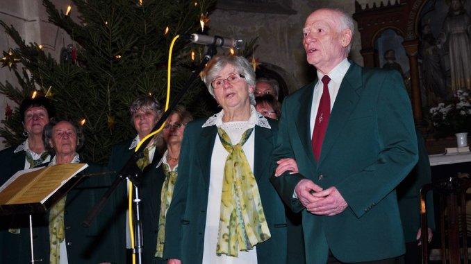 Greizer Volkskunstensemble erfreute mit weihnachtlichen Weisen