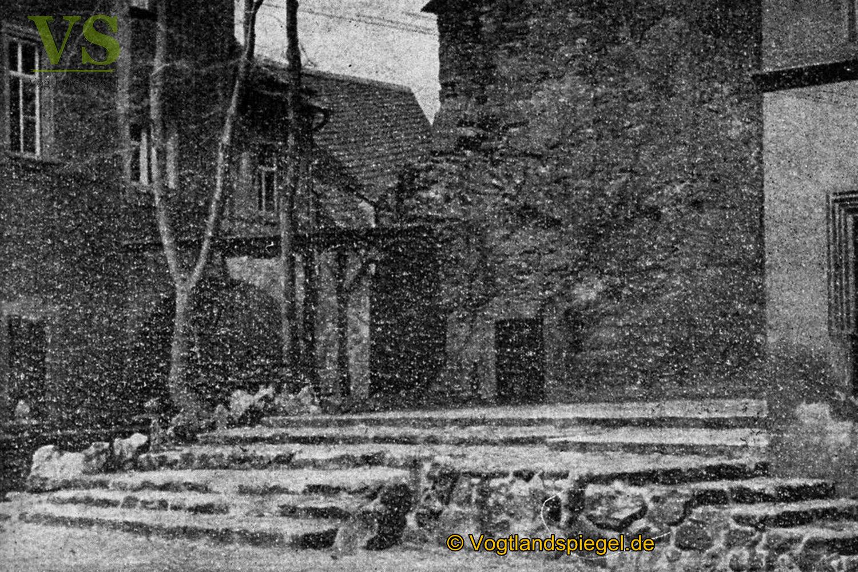 Schlosshofbühne Mitte der 1950er Jahre