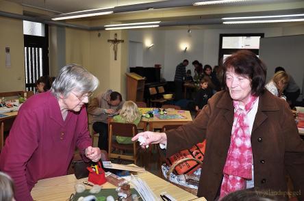 Kreativtag im Katholischen Gemeindezentrum Greiz