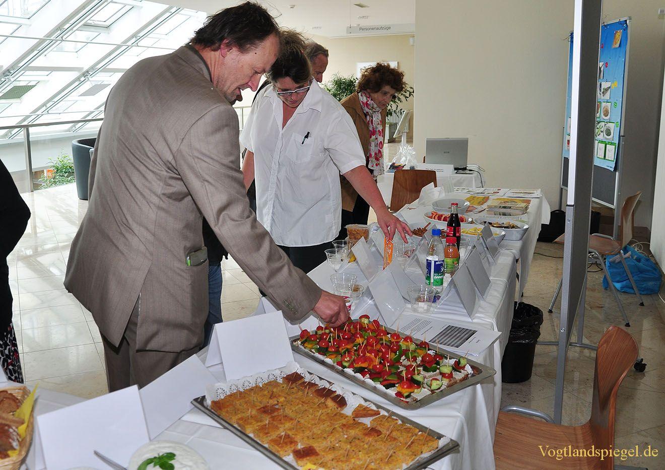 Erster Ernährungstag im Kreiskrankenhaus Greiz