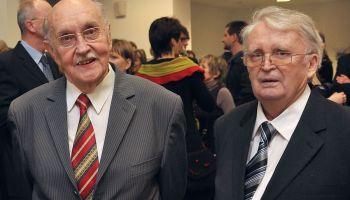 OPhR Georg Czerwenka und Dr. Lothar Hartmann