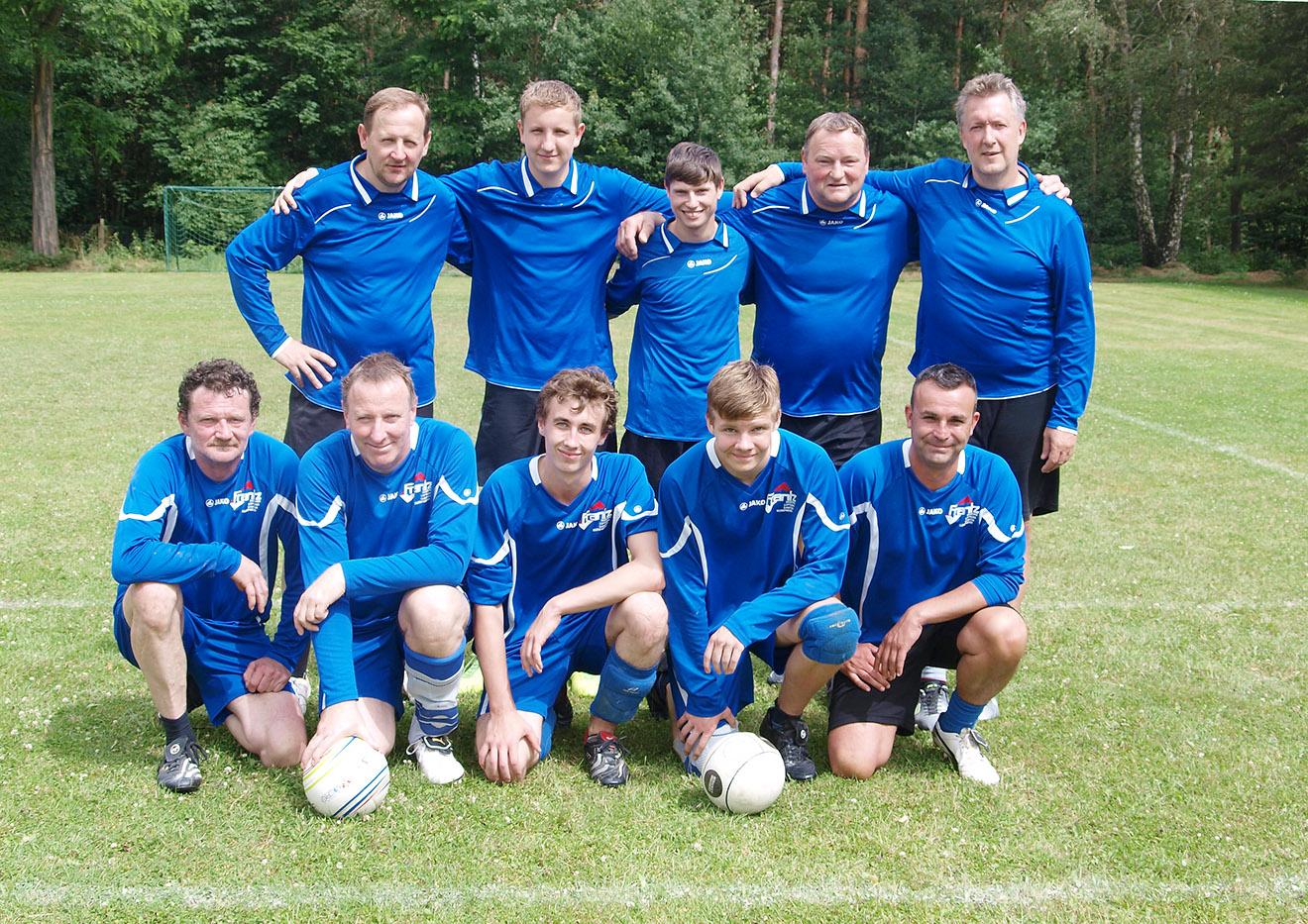 Saisonauftakt der Bezirksliga Nord/Ost Faustball