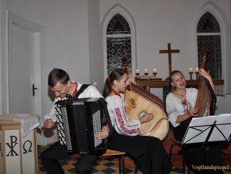 Beriska-Ensemble gastiert in Greizer Michaeliskirche
