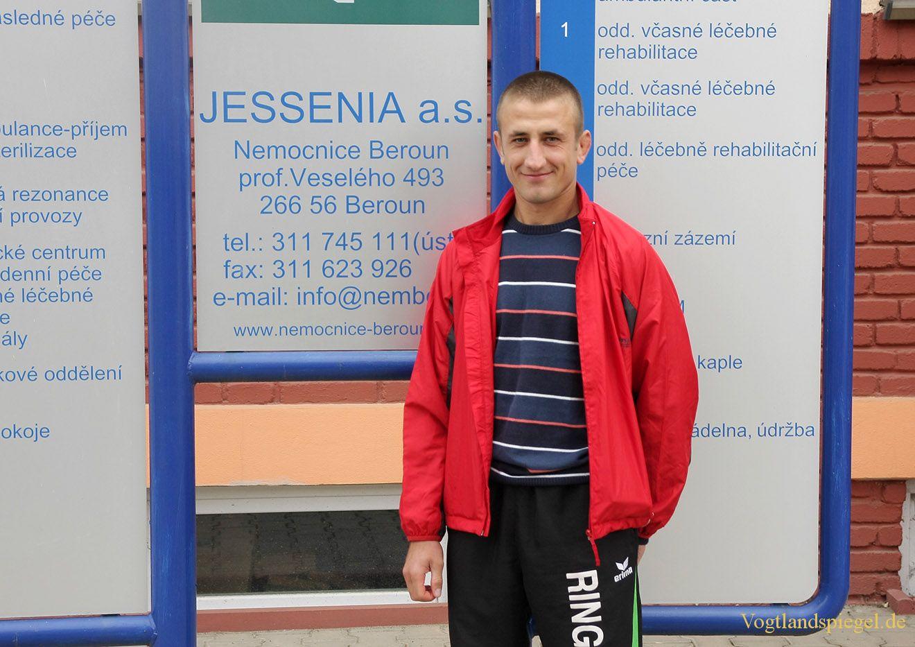Vladimir Codreanu in Beroun