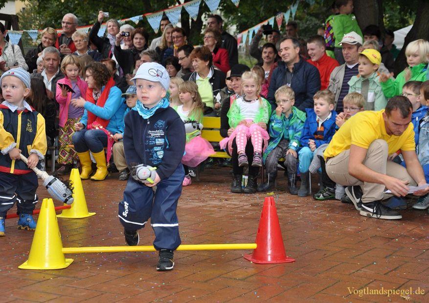 Kindergarten Käte Duncker wird zum Zirkus Kunterbunt