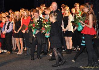 Weihnachtskonzert des Greizer Ulf-Merbold-Gymnasiums in der Vogtlandhalle