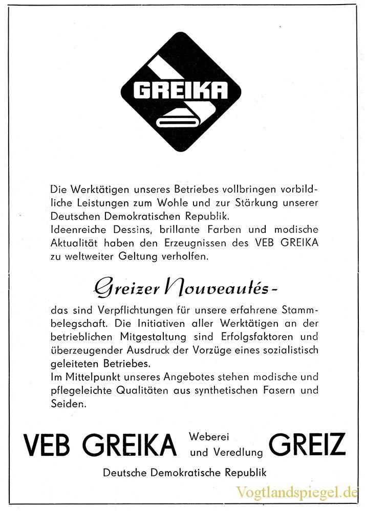 Werbung im Greizer Heimatbote