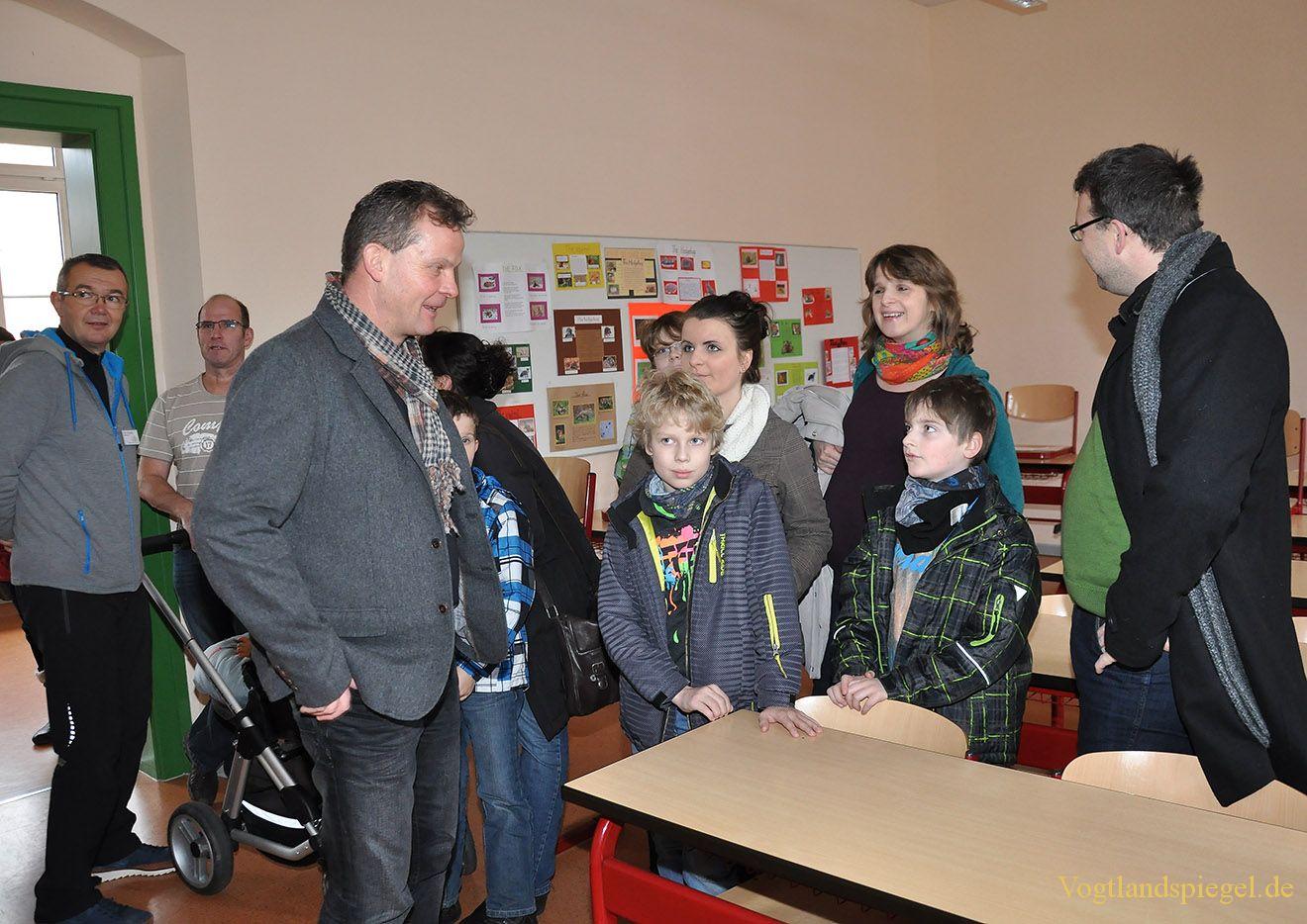 Tag der offenen Tür in Greizer Ulf-Merbold-Gymnasium