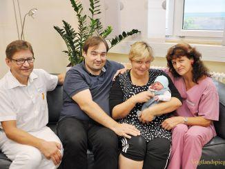 Konstantin Bertram Knoch heißt das Greizer Baby