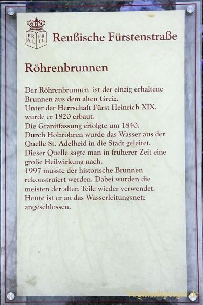 Greizer Osterbrunnen mit Frühlingsliedern eingeweiht