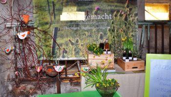 Floristikausstellung im Rittergut Kleingera