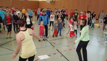 Familiensportfest der Greizer Kindertagesstätte Juri Gagarin
