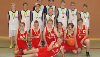 Basketball im Rahmen der Kreisjugendspiele 2015