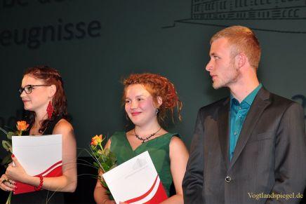 90 Greizer Gymnasiasten erhalten Abiturzeugnis