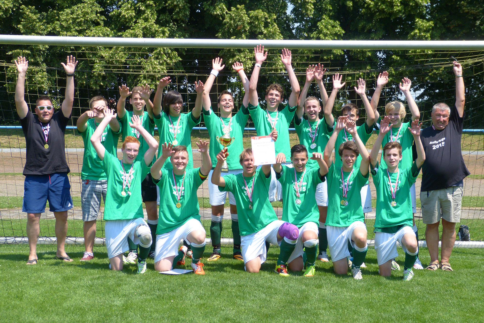 Greizer B-Junioren gewinnen Kreispokal