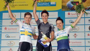 28. Internationalen Thüringenrundfahrt der Frauen - Greiz