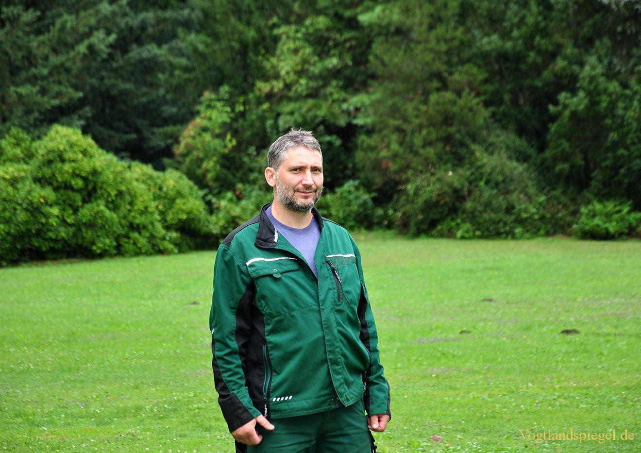 Parkverwalter des Fürstlich Greizer Parks, Rainer Harloff