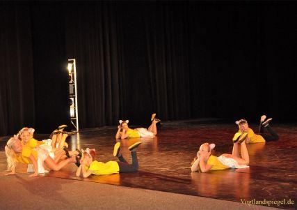 Tanzsportgala begeisterte Besucher in der Vogtlandhalle Greiz