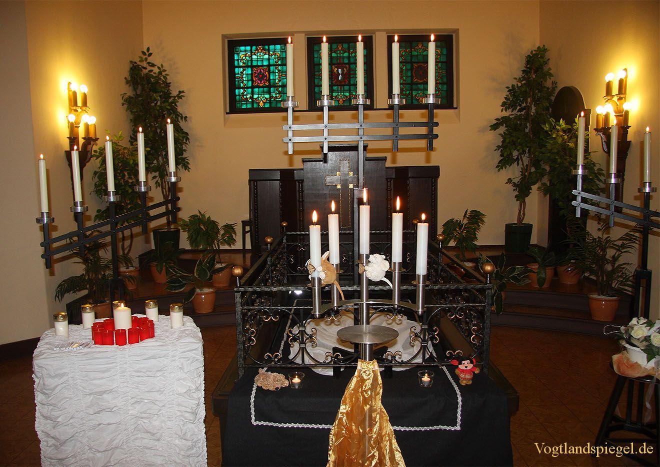 Gedenk-und Trauerfeier für Totgeburten