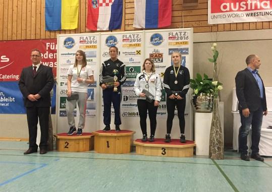 Ringen: Eyleen Sewina gewinnt Bronze in Österreich