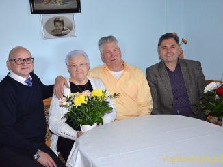 Ella und Heinrich Richter begingen das Fest der Diamantenen Hochzeit