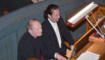 Grünert und Stiller mit virtuosem Orgelspiel im Doppelpack