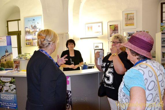 Gäste aus Erlangen besuchen die Stadt Greiz